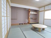 使われなくなっていた和室を綺麗に。これで大人数でも安心。