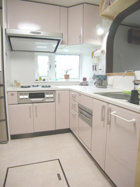 www.0072.com_狭小スペースながら、工夫で機能充実L型キッチンです。 » 青森 ...