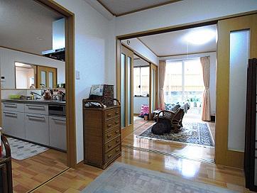 提案01 生活動線を回遊型にすることで家を広く使う
