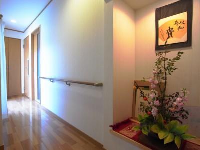 お婆様の部屋へ続く新設の廊下。