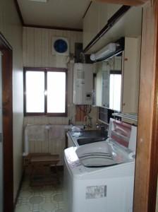 0.75坪の狭い洗面脱衣室