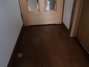 出っ張りの無くなった廊下