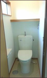 洋式トイレへリフォームへ