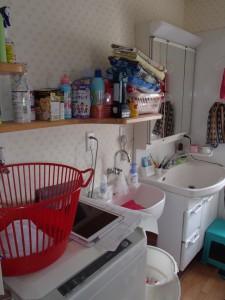 洗面所はリフォーム済みでしたがより暖かくをご希望