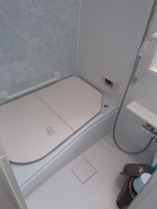 リフォーム後 0.75坪ですが浴槽が広くなりました
