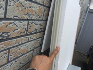 ユニットバスは断熱仕様となっており、壁にも断熱材が張り付けてあります。ただしこれだけだと薄いので、当社では建物自体に断熱を十分に行います。