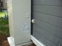 割安な深夜電力を使う、電気温水器工事