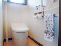 0.4坪の狭い空間でも居心地の良いトイレに