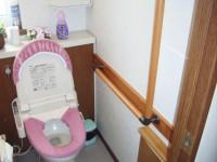 介護保険による住宅改修・トイレ手すり取り付け工事