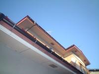 屋根塗装工事・トイレ屋根葺き替え工事・雨樋交換